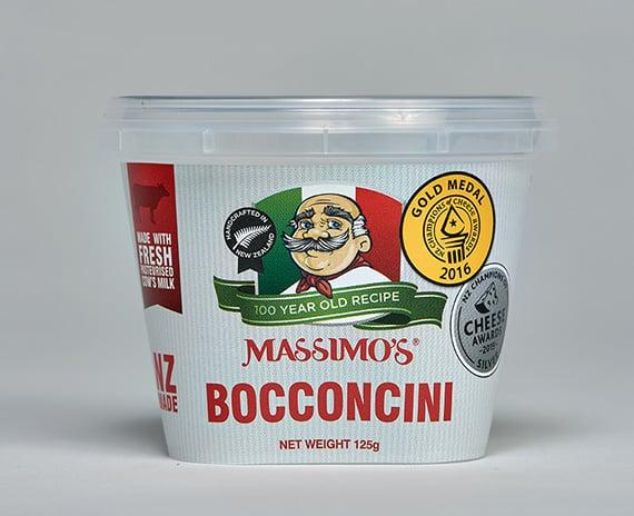 Bocconcini Mozzarella - Massimo's Italian cheeses made in NZ