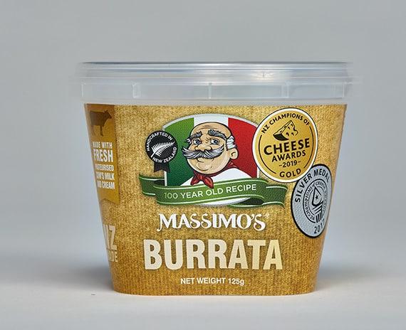 Burrata - Massimo's Italian cheeses made in NZ