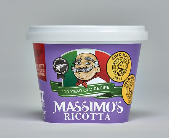 Ricotta - Massimo's Italian cheeses made in NZ