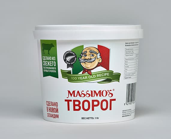 cottage cheese - Massimo's Italian cheeses made in NZ