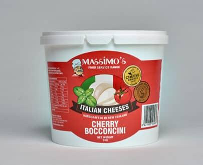 Cheery Bocconcini Mozzarella - Massimo's Italian cheeses made in NZ