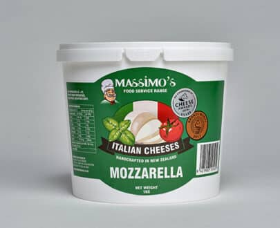 Mozzarella - Massimo's Italian cheeses made in NZ