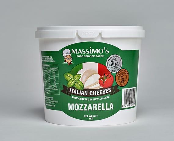 Mozzarella - Massimo's Italian cheeses made in NZ