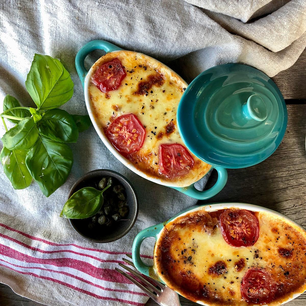 Eggplant Parmigiana with Massimo's Mozzarella